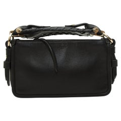 Givenchy Black Obsidia Leather Clutch