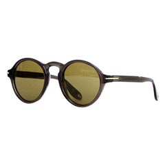 Givenchy Black Round Frame Sunglasses