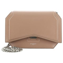 Givenchy Bow Cut Chain Flap Bag Leather