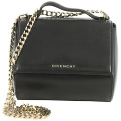 Givenchy Chain Pandora Box Bag Leather Mini