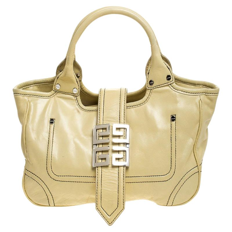 Givenchy Citrine Leather Tote