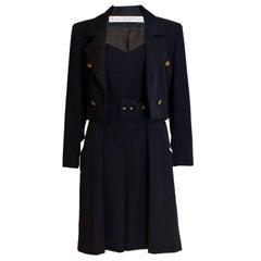 Givenchy Couture Short Leg Jumpsuit and Jacket