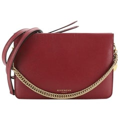 Givenchy Cross 3 Crossbody Bag Leather Small