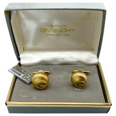 GIVENCHY Cufflinks Vintage 1970s