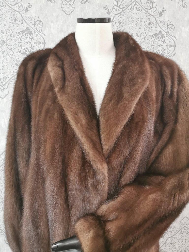 Givenchy Haute Fourrures Demi Buff Mink Fur Coat (Size 12 - M) For Sale 1