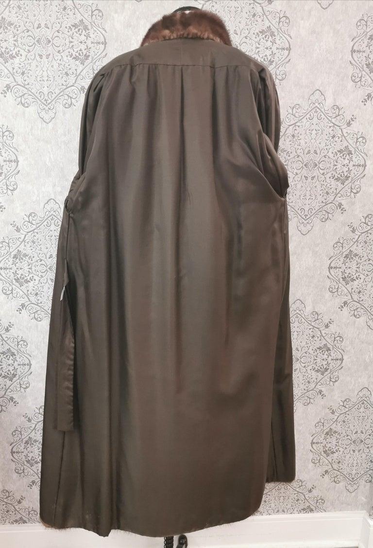 Givenchy Haute Fourrures Demi Buff Mink Fur Coat (Size 12 - M) For Sale 2