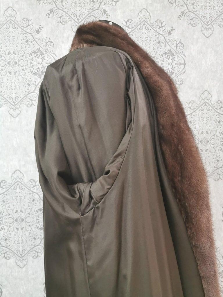 Givenchy Haute Fourrures Demi Buff Mink Fur Coat (Size 12 - M) For Sale 3