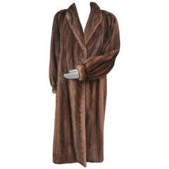 Givenchy Haute Fourrures Demi Buff Mink Fur Coat (Size 12 - M)