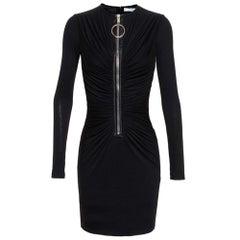 Givenchy Draped Jerset Mini Dress