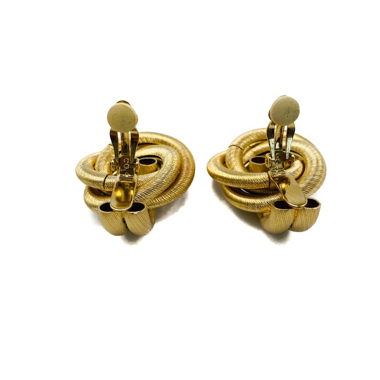 GIVENCHY Earrings Vintage 1980s For Sale 1