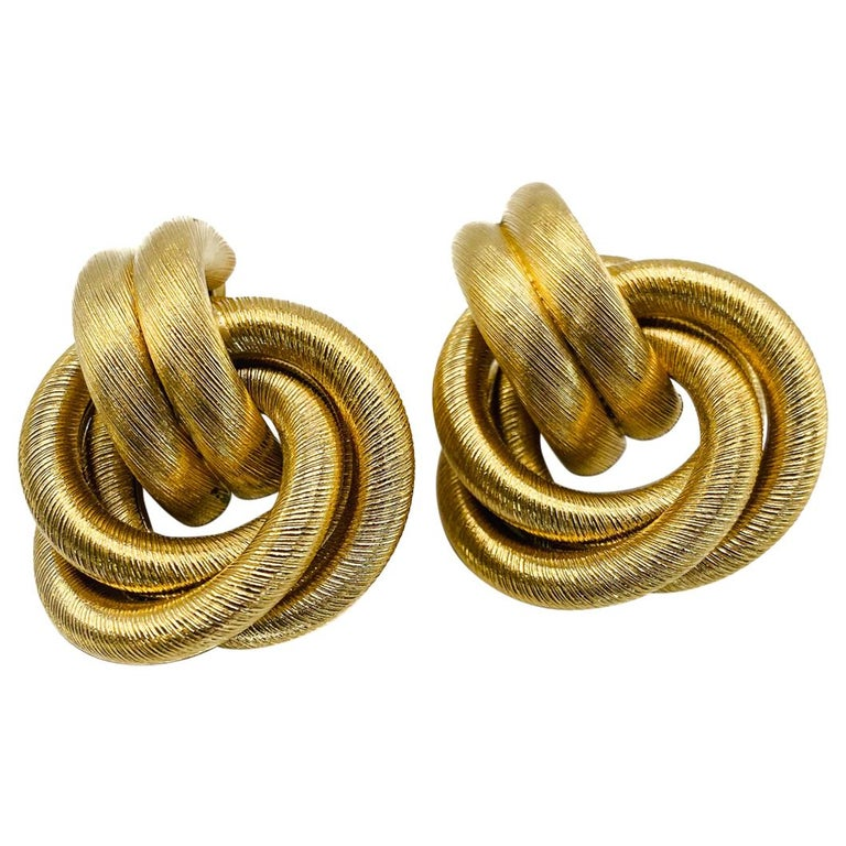 GIVENCHY Earrings Vintage 1980s For Sale
