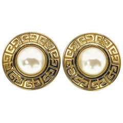 GIVENCHY Earrings Vintage 1980s