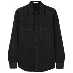 Givenchy Embroidered Denim Shirt