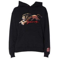 Givenchy Embroidered Printed Cotton Jersey Hoodie