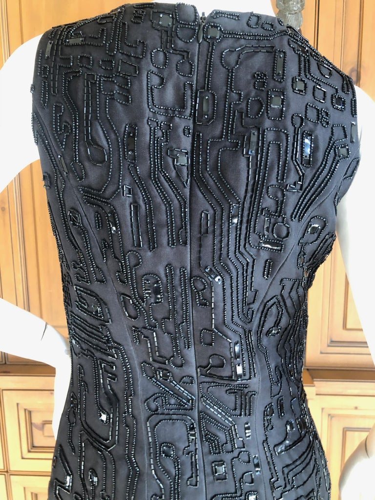 Givenchy Haute Couture by Alexander McQueen Fall '99 Circuit Board
