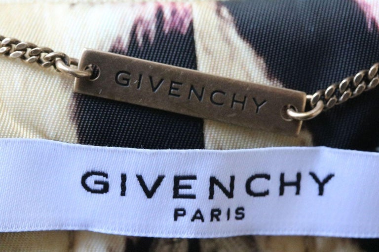 Women's Givenchy Leopard-Print Padded Bomber Jacket For Sale