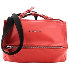 Givenchy Logo Strap Pandora Bag Leather Mini