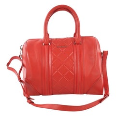 Givenchy Lucrezia Duffle Bag Quilted Leather Medium
