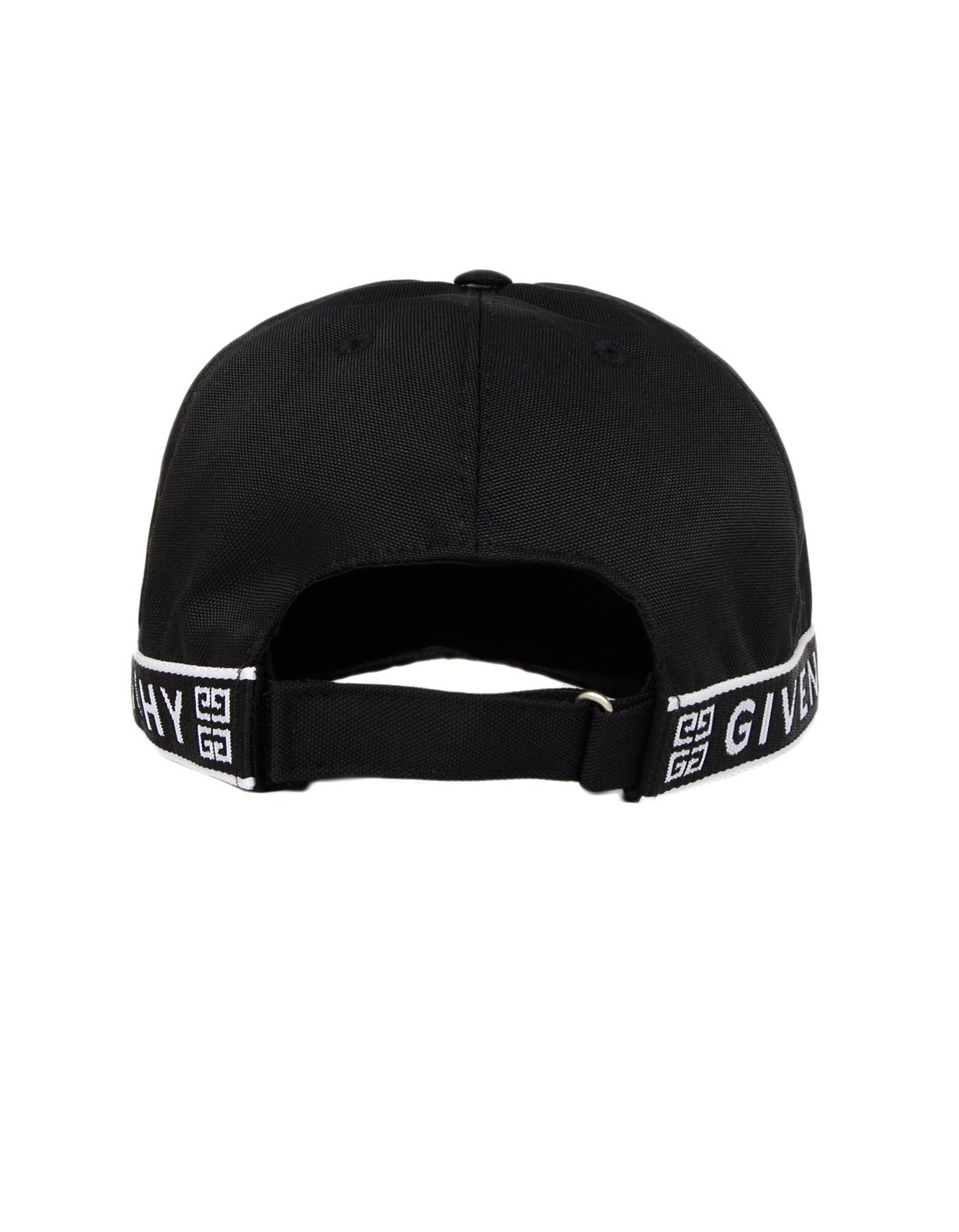 e3ace5ae Givenchy Men's Black 4G Side Strap Baseball Cap For Sale at 1stdibs