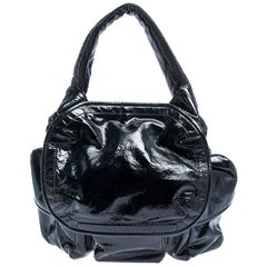 Givenchy Midnight Blue Patent Leather Hobo