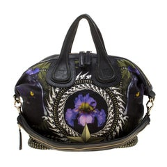 Givenchy Multicolor Nightingale Canvas Tote