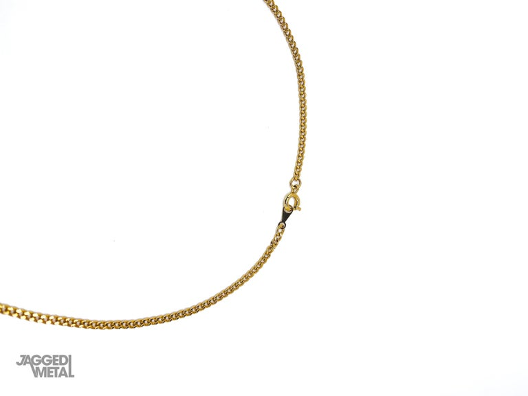 GIVENCHY Vintage 1970s Necklace A delicate 70s piece from Givenchy - classic yet contemporary     Detail -Made in France in 1979 -Crafted from gold plated metal -Delicate chain with double G logo pendant -Spring ring clasp  Size & Fit -Approx 15