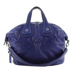 Givenchy  Nightingale Satchel 3D Stud Leather Medium