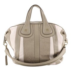 Givenchy Nightingale Satchel Calf Hair and Leather Medium