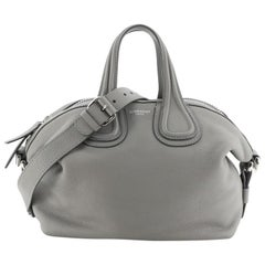 Givenchy Nightingale Satchel Glazed Leather Medium