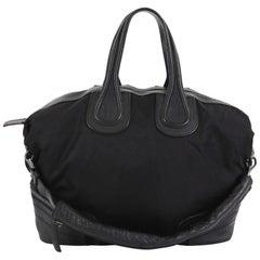 Givenchy Nightingale Satchel Nylon and Leather Large