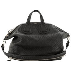 Givenchy Nightingale Satchel Perforated Leather Large