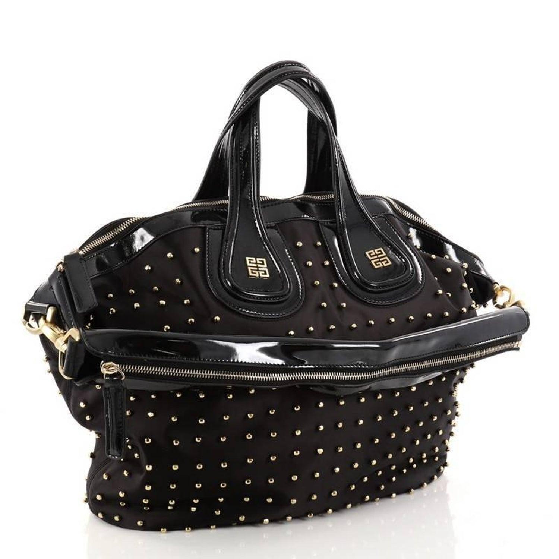 Givenchy Nightingale Satchel Studded Nylon Medium 0225c30a36fa0