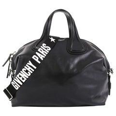 Givenchy Nightingale Satchel Waxed Leather Medium