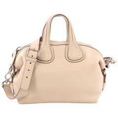 Givenchy Nightingale Satchel Waxed Leather Small