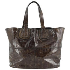 Givenchy Nightingale Tote Patent East West