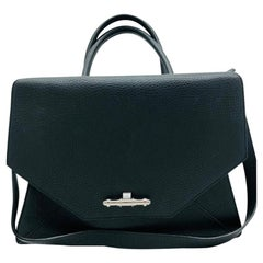 Givenchy Obsedia Black Textured Leather