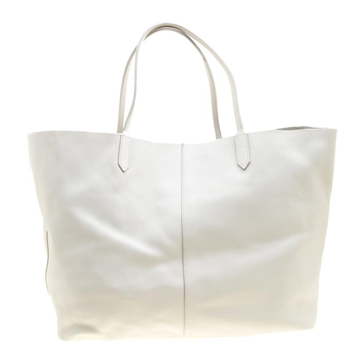 69292ce74fd5 Givenchy Off White Leather Large Antigona Shopping Tote For Sale at 1stdibs