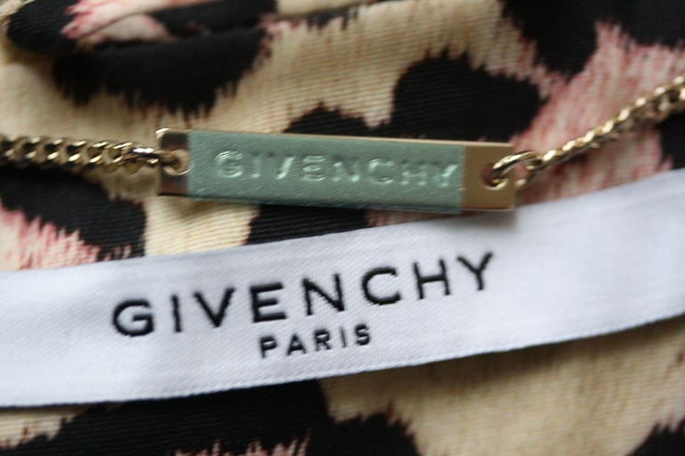 Women's Givenchy Oversized Leopard-Print Trench Coat For Sale