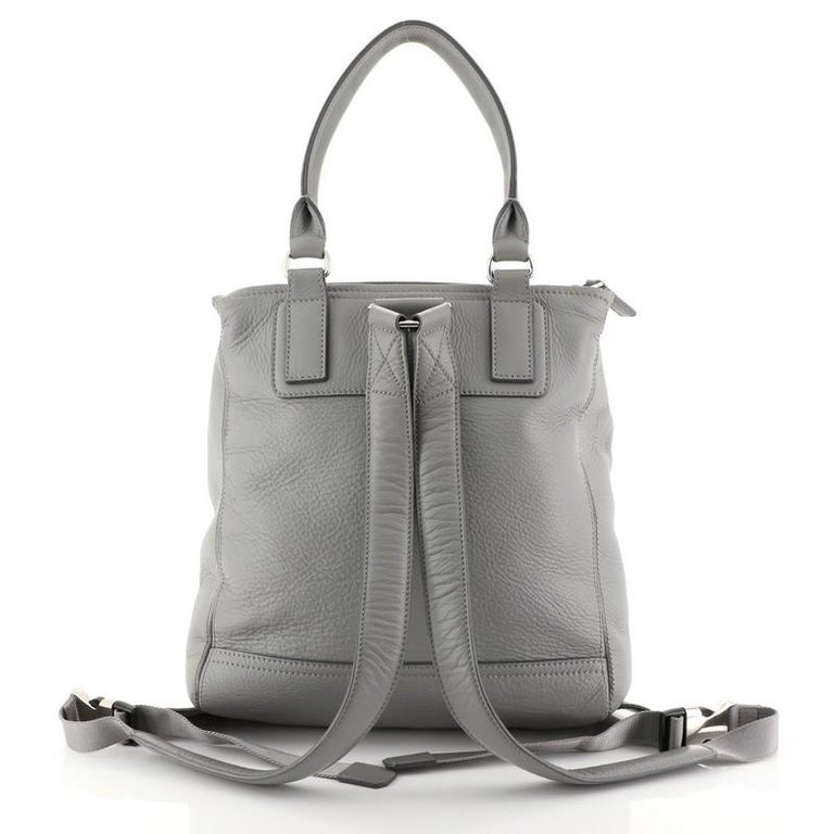 Gray Givenchy Pandora Backpack Leather For Sale