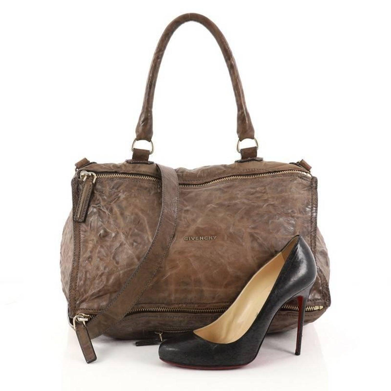 82ed6e897c4 Givenchy Pandora Bag Distressed Leather Large at 1stdibs