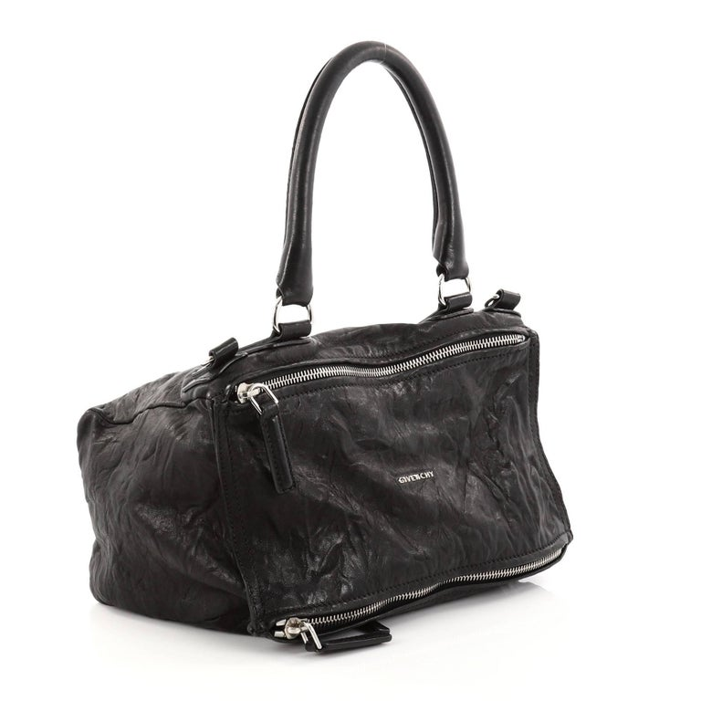 05da892b95ab Givenchy Pandora Bag Distressed Leather Medium In Good Condition For Sale  In New York