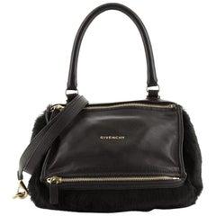 Givenchy Pandora Handbag Leather and Fur Medium