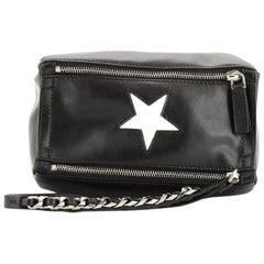 Givenchy Pandora Wristlet Clutch Leather with Inlay