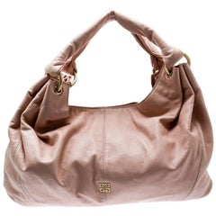 Givenchy Pink Leather Hobo
