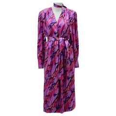 Givenchy Pink Silk Vintage Dress 1980s Paris