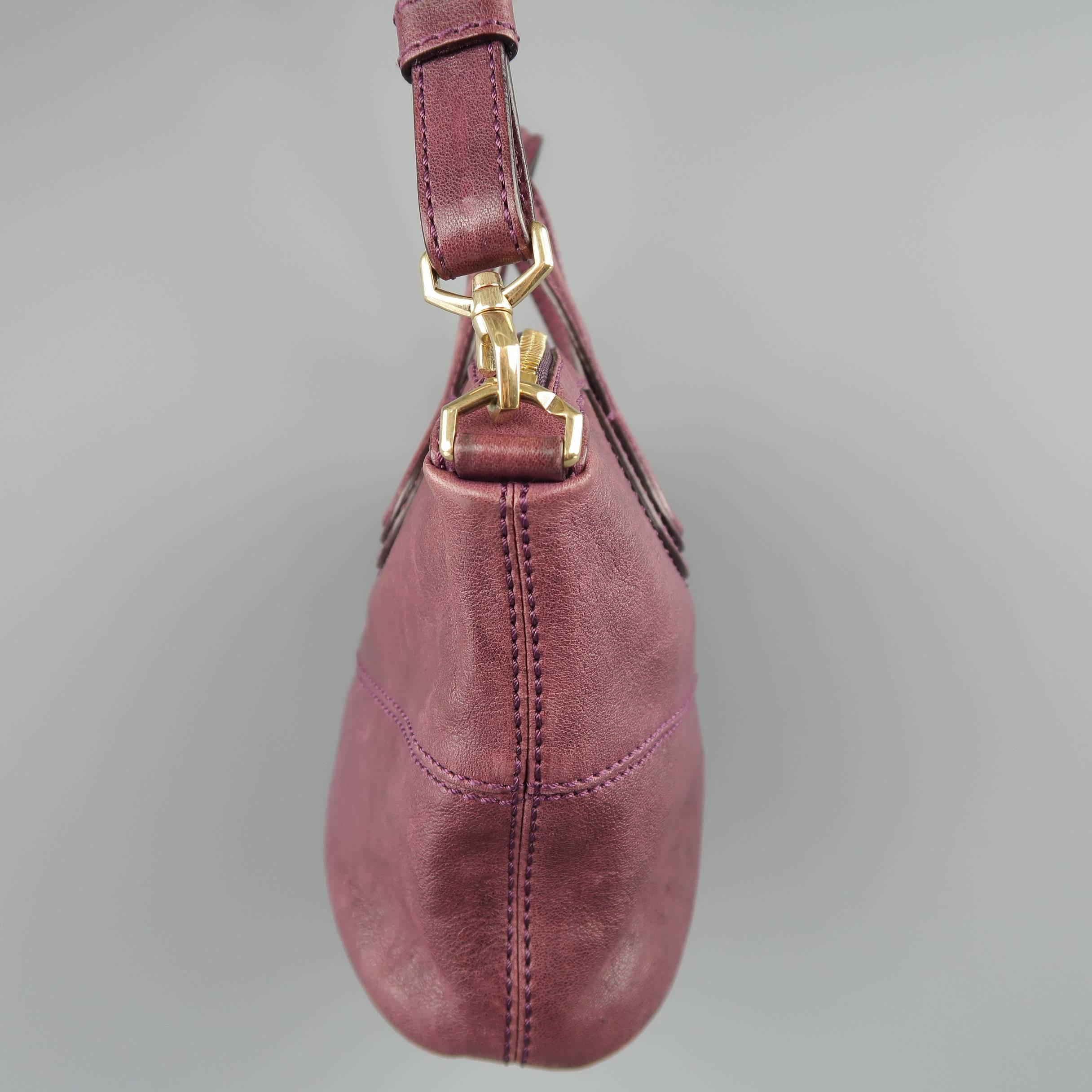 Givenchy Plum Purple Leather Nightingale Mini Handbag at 1stdibs 8dfb4bc2e6bbd