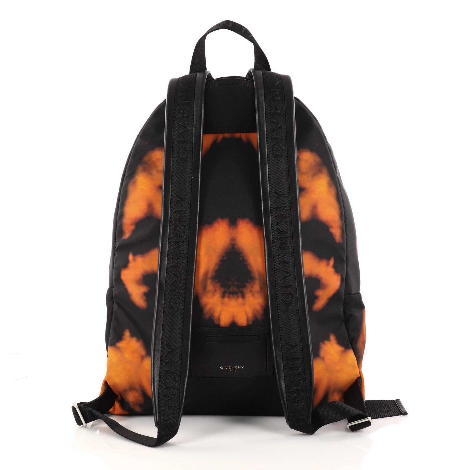 Givenchy Pocket Backpack Printed Nylon G9BzVycbW