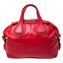 Givenchy Red Leather Mini Nightingale Bag
