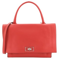 Givenchy Shark Convertible Satchel Leather Small
