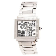 Givenchy Silver Stainless Steel New Apsaras REG.800411 Women's Wristwatch 35MM